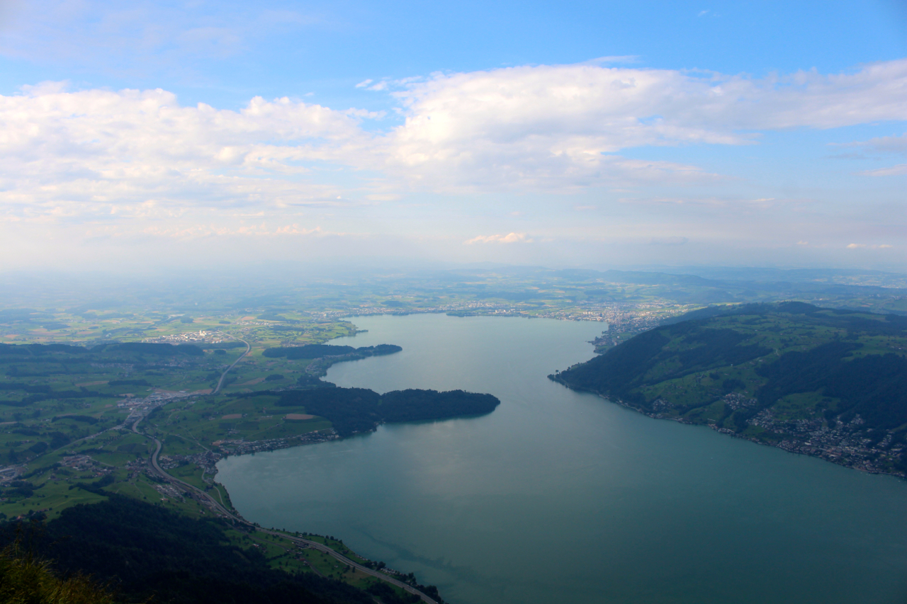 View from the top of Rigi Kulm