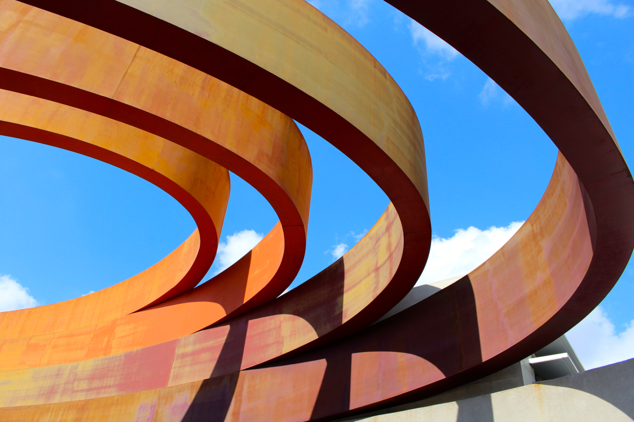 One picture of the spiraling architecture