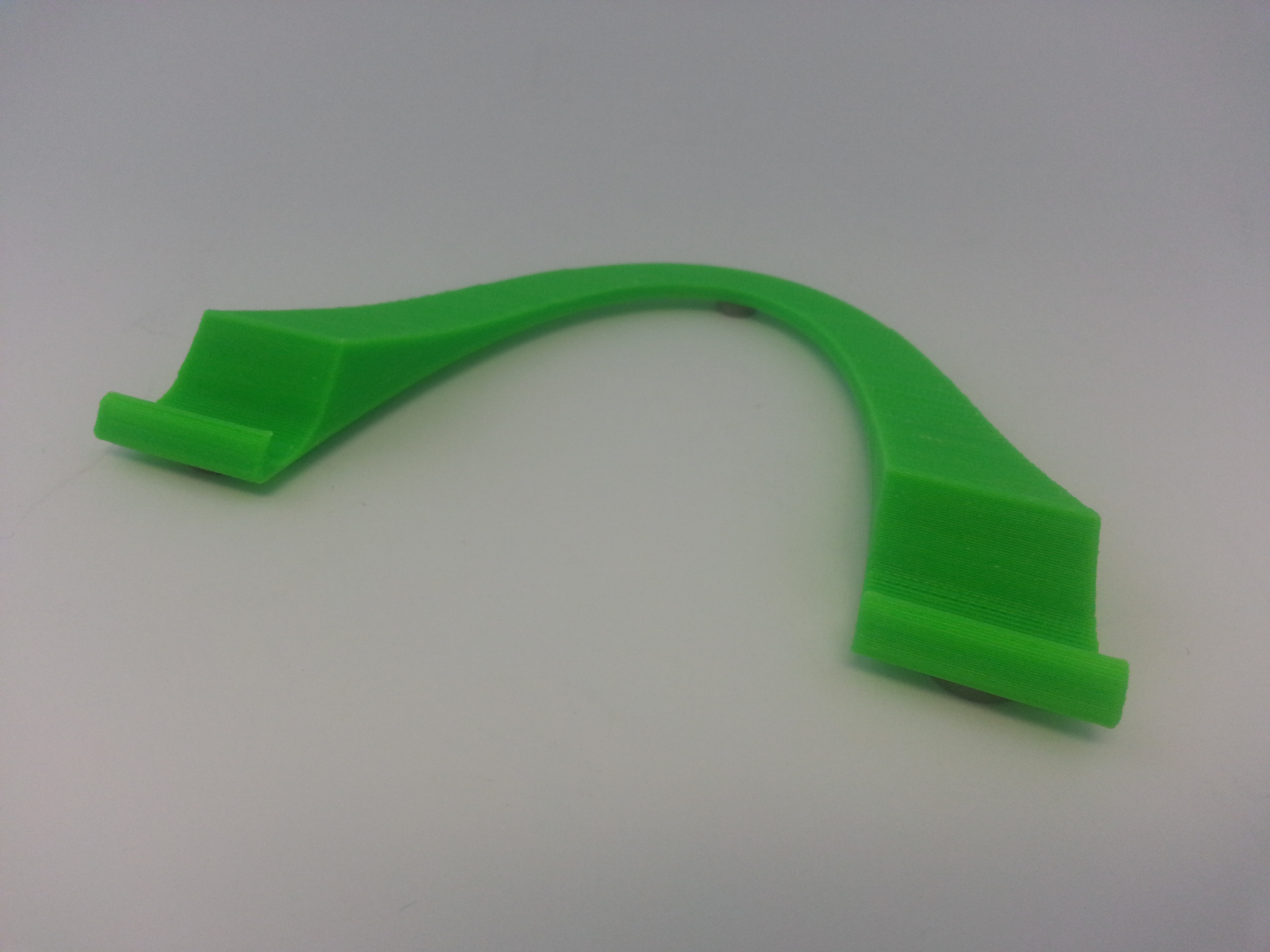 Tablet stand in green